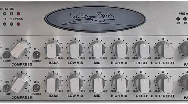 Wayne Jones Audio Introduces the WJBPII Twin Channel Bass Preamp