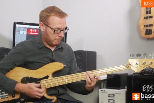 Stuart Clayton: Bass Lick of the Week #3 – Slap Groove