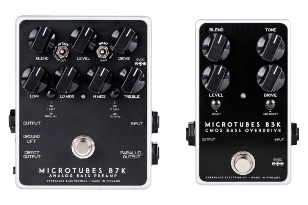 Darkglass Electronics Updates Microtubes B3K and Microtubes B7K Pedals