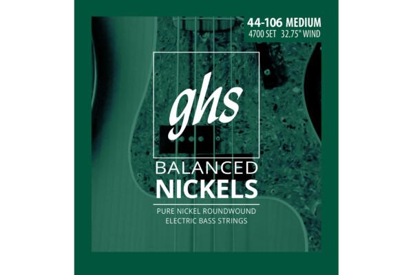 GHS Strings Unveils Balanced Nickels Bass Strings