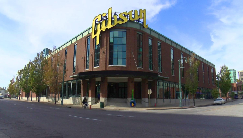 Gibson's Memphis Factory