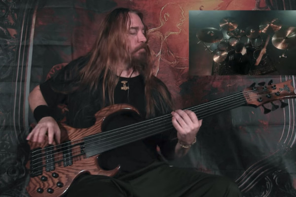 """Steve Di Giorgio: Bass Playthrough of Gone In April's """"As Hope Welcomes Death"""""""