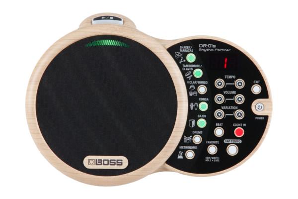 Boss Introduces The DR-01S Rhythm Partner Drum Machine