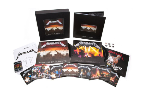 """Metallica's Remastered """"Master of Puppets"""" Box Set Features Cliff Burton Interviews, Jason Newsted Auditions"""