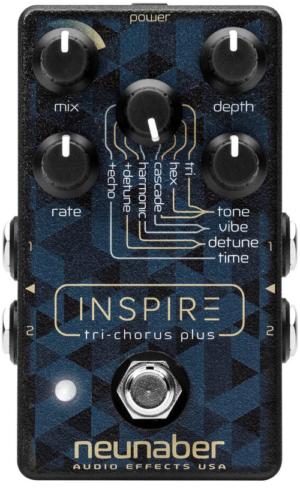 Neunaber Audio Inspire Tri-Chorus Plus Pedal