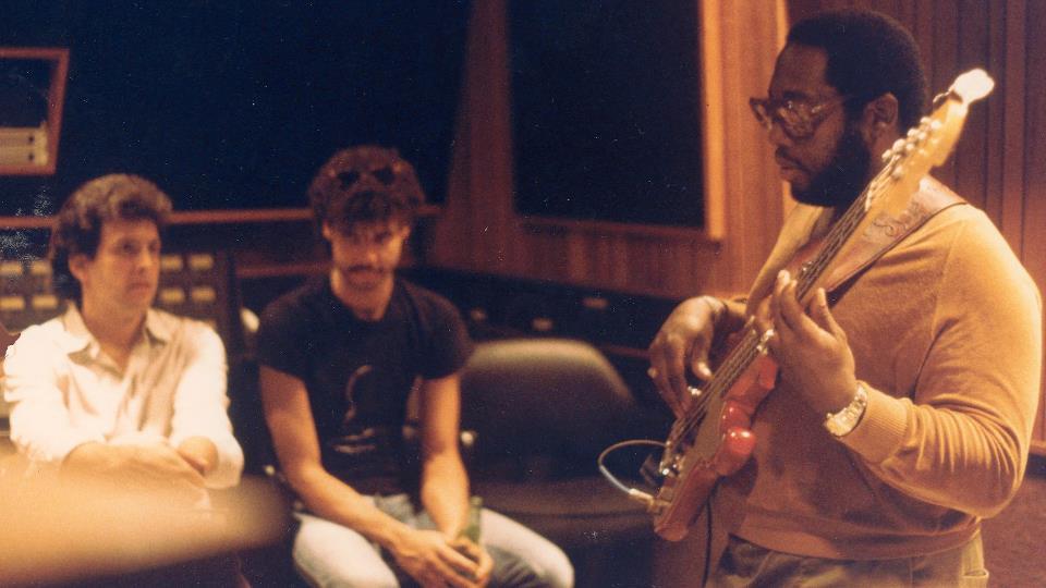 """Robert """"Pops"""" Popwell in studio 1984 (Chris Hoard)"""