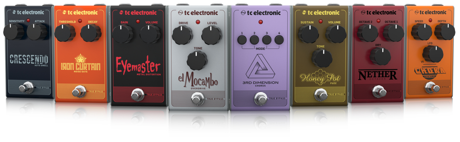 TC Electronic's Analog Pedals