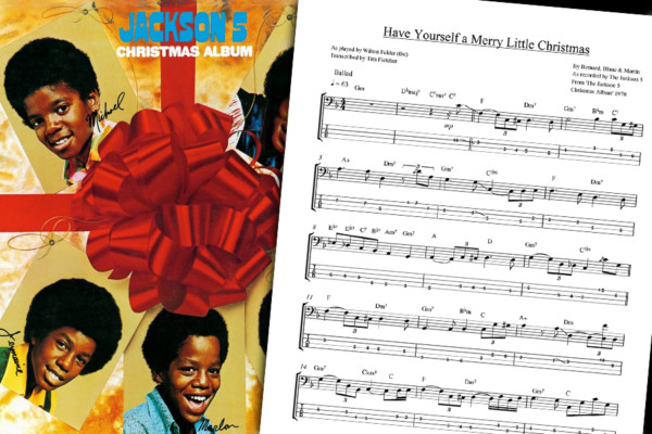 """Bass Transcription: The Jackson 5's """"Have Yourself A Merry Little Christmas"""""""