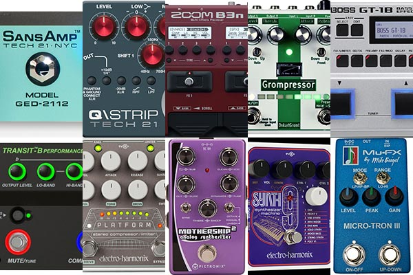 Best of 2017: The Top 10 Reader Favorite Pedals & Effects