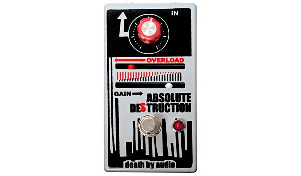 Death By Audio Introduces Absolute Destruction Pedal