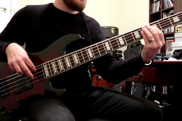 """Alex Canion: Bass Playthrough of Voyager's """"Ghost Mile"""""""