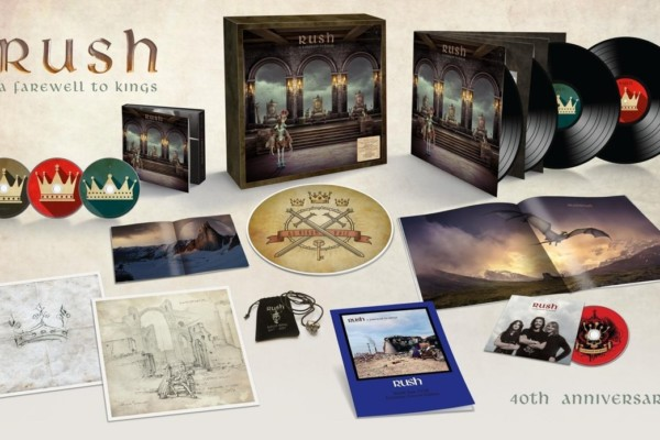 """Rush's """"A Farewell To Kings"""" Gets 40th Anniversary Reissue"""