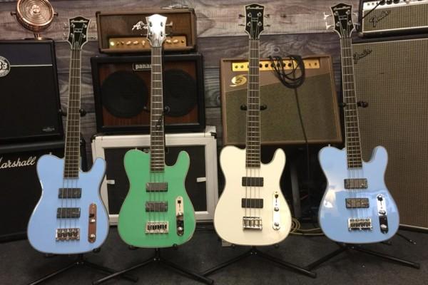 Thin The Herd Guitars and Birdsong Guitars Announce the CBG 30.5 T-Bass