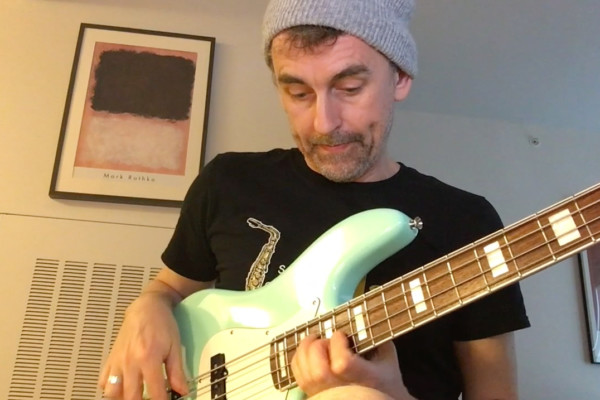 "Bass Transcription Analysis: ""I Start With The Blues"" Bob Mintzer Sax Solo, Part 4"
