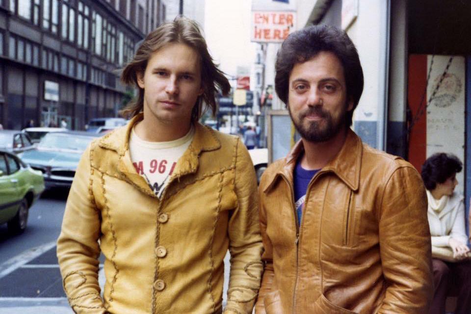 Doug Stegmeyer with Billy Joel