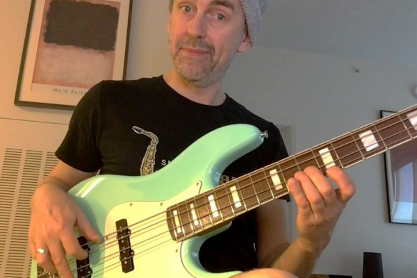 "Bass Transcription Analysis: ""I Start With The Blues"" Bob Mintzer Sax Solo, Part 3"