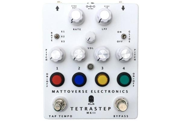 Mattoverse Electronics Announces The TetraStep MkII