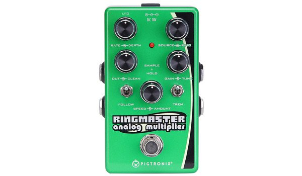 Pigtronix Announces the Ringmaster Ring Modulator Synth Pedal