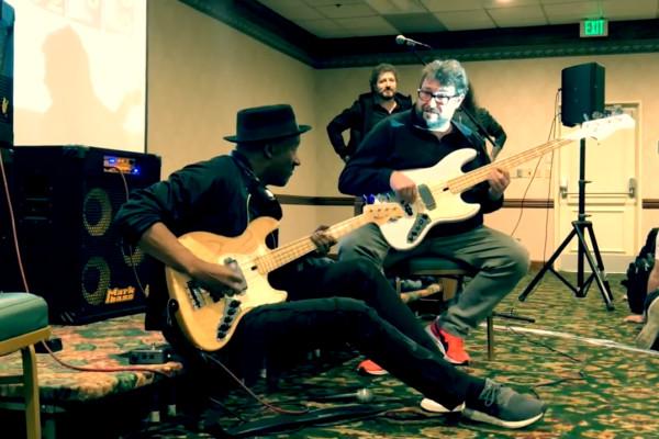 Federico Malaman & Marcus Miller: NAMM Jam