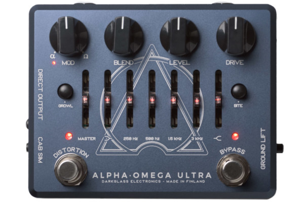 Darkglass Electronics Introduces Alpha Omega Ultra Pedal