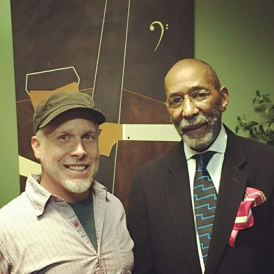Jason Brown with Ron Carter