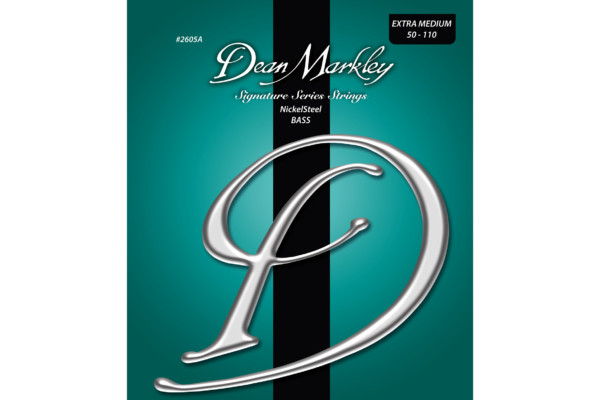 Dean Markley Adds Extra-Medium Set to NickelSteel Bass Signature String Series