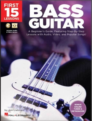 The First 15 Lessons: Bass Guitar