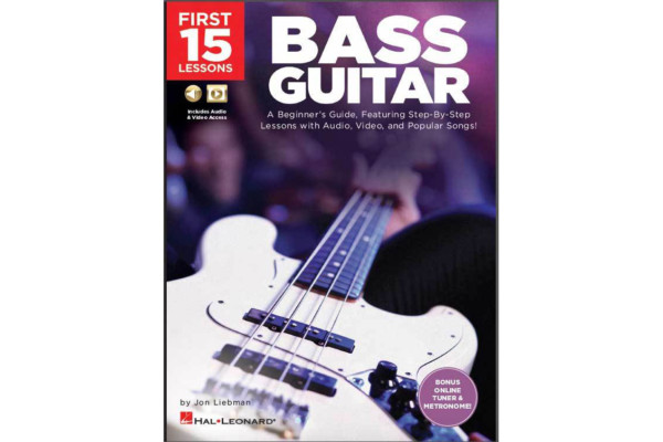 "Hal Leonard Publishes ""The First 15 Lessons: Bass Guitar"" Instructional Book"