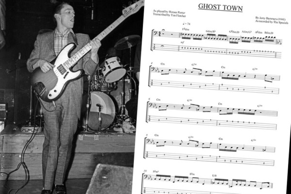 """Bass Transcription: Horace Panter's Bass Line on """"Ghost Town"""" by The Specials"""