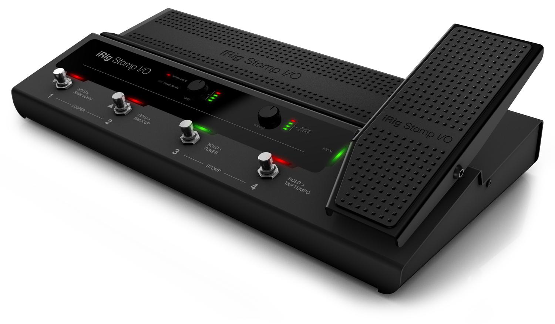 IK Multimedia iRig Stomp I/O USB Pedalboard Controller