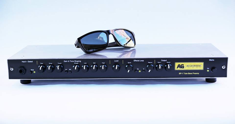 Accugroove Inception Tube Bass Preamp