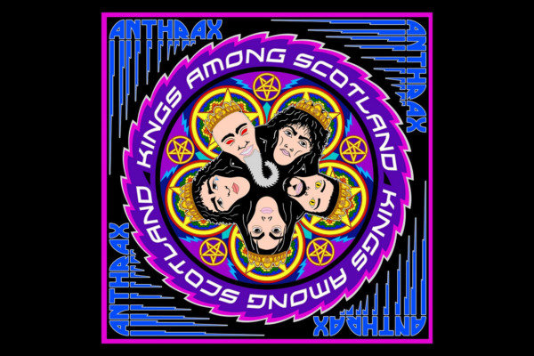 """Anthrax Releases """"Kings Among Scotland"""" Live DVD/CD"""