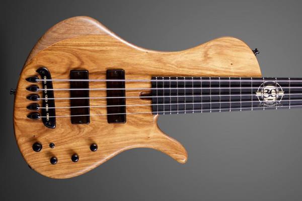 Boldogh Guitars Builds EBS 30th Anniversary Bass
