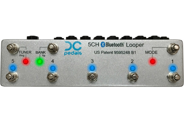 DC Pedals Announces 5-Channel Bluetooth Effects Looper