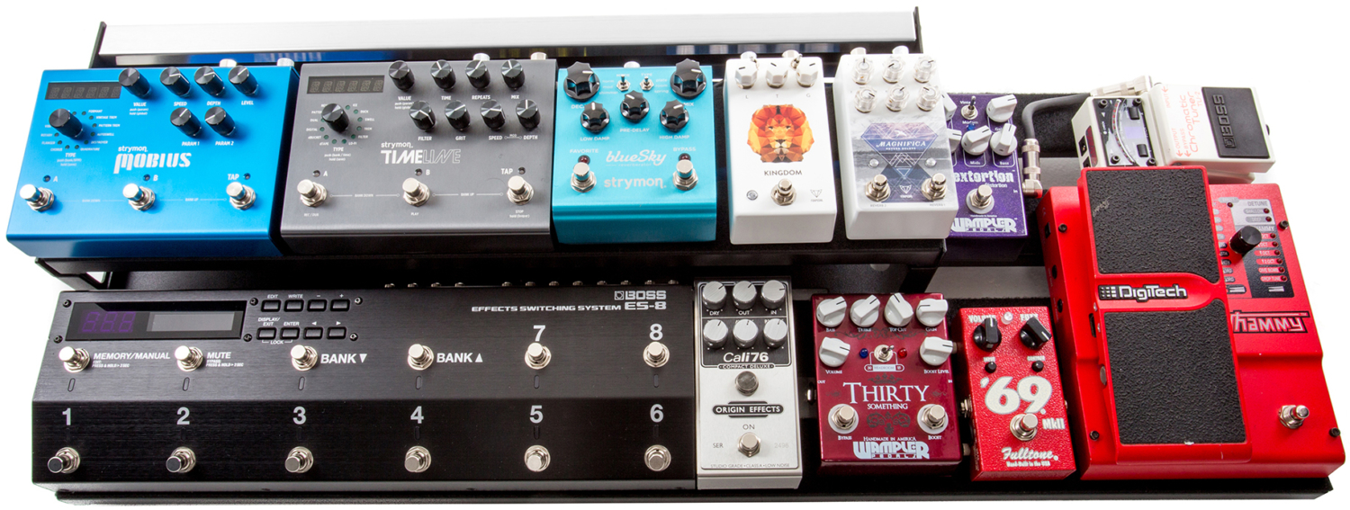 WAGGI Pedalboard with Pedals