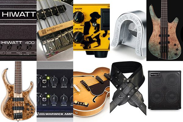 Bass Gear Roundup: The Top Gear Stories in April 2018