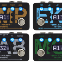 Hotone Introduces the Binary Pedal Series