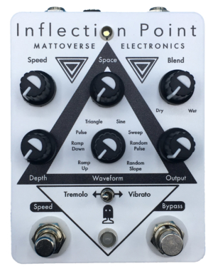 Mattoverse Electronics Inflection Point Modulation Pedal