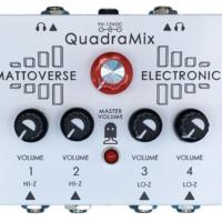 Mattoverse Electronics Introduces the Quadramix Pedal