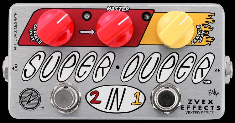 ZVEX Effects Super Duper Concert Bass Mod Pedal