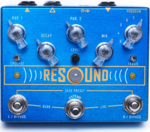 Cusack Resound Reverb Pedal
