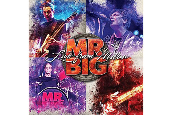 """Billy Sheehan Shreds on Mr. Big's """"Live From Milan"""""""