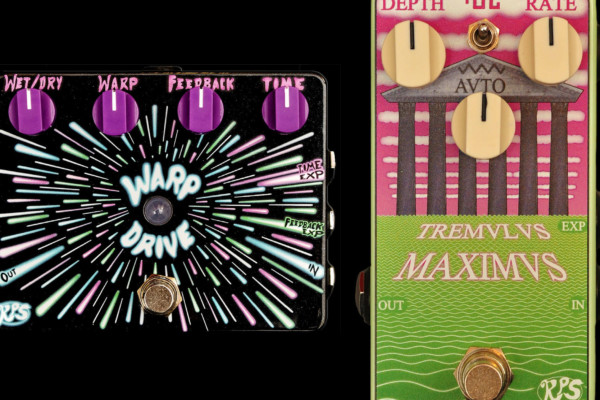 RPS Effects Introduces the Warp Drive and Tremulus Maximus Pedals