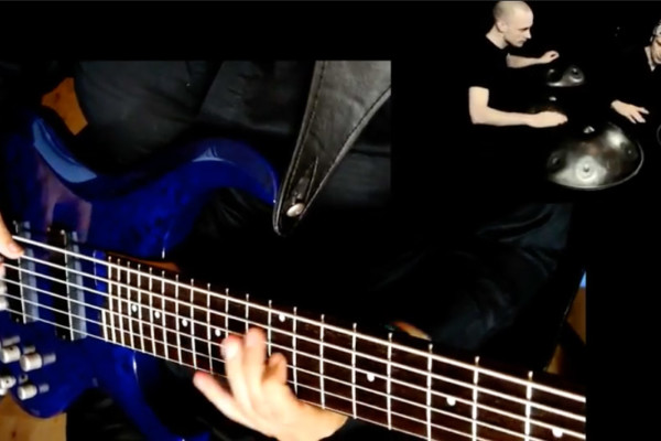 Michele della Malva: Handpan Duet & Bass