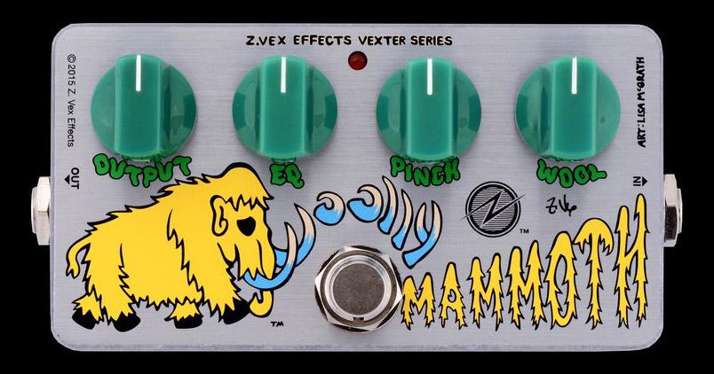 ZVEX Effects Germanium Woolly Mammoth Pedal