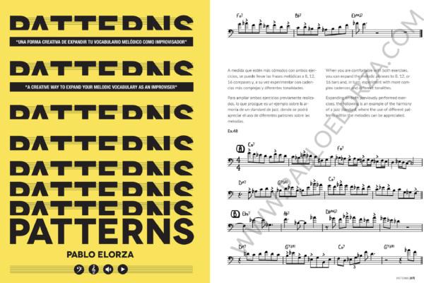 Pablo Elorza Publishes New Instructional Book, Patterns