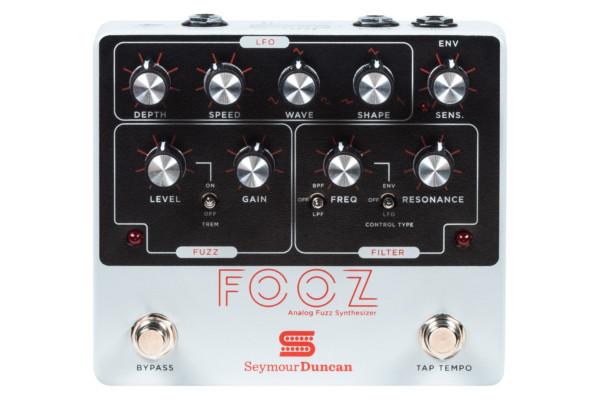 Seymour Duncan Unveils Fooz Analog Fuzz Synthesizer Pedal