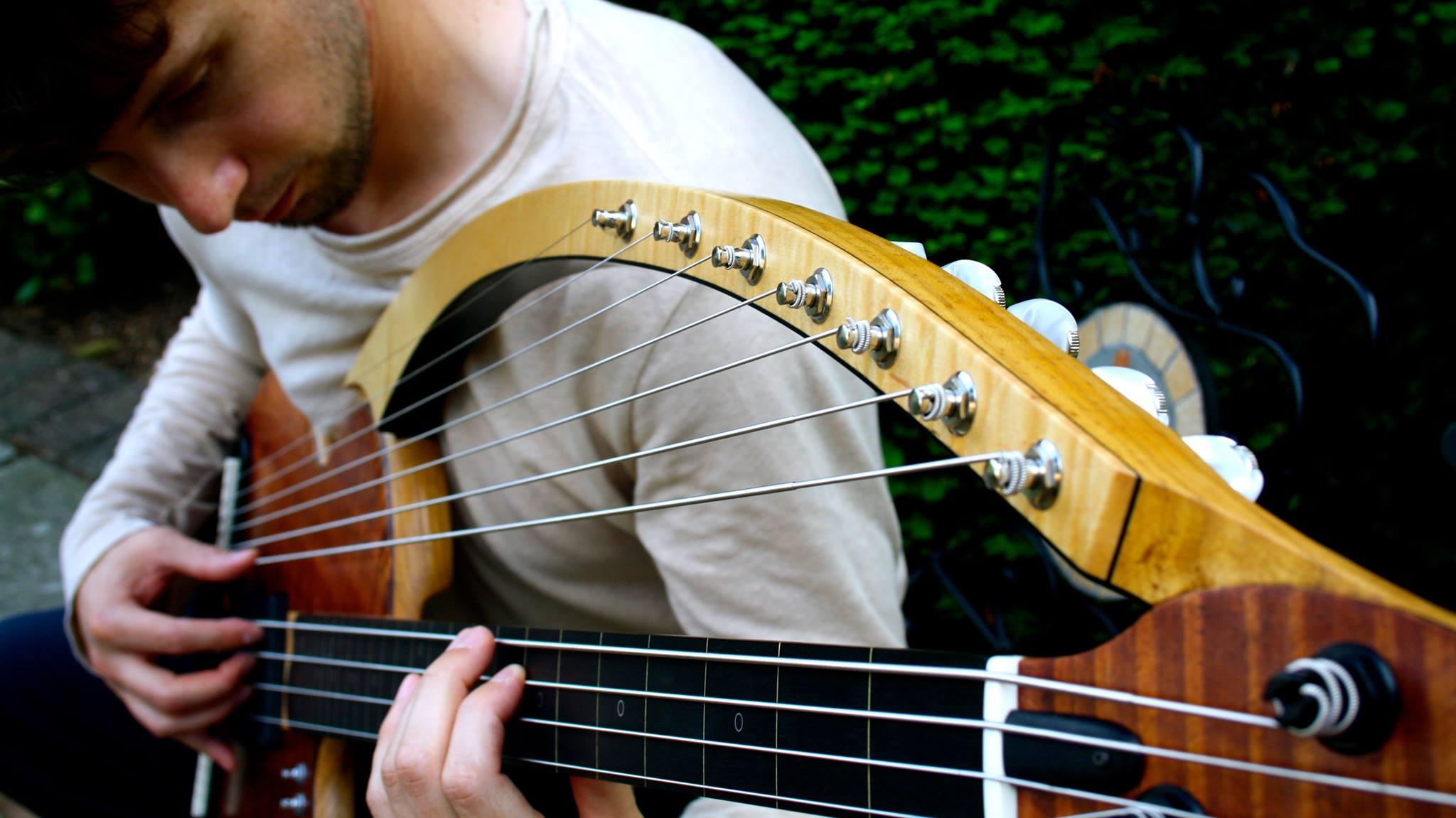 Zander Zon: 16 String Harp Bass