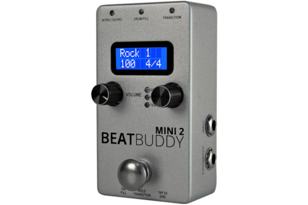 Singular Sound Announces BeatBuddy Mini 2 Drum Machine Pedal
