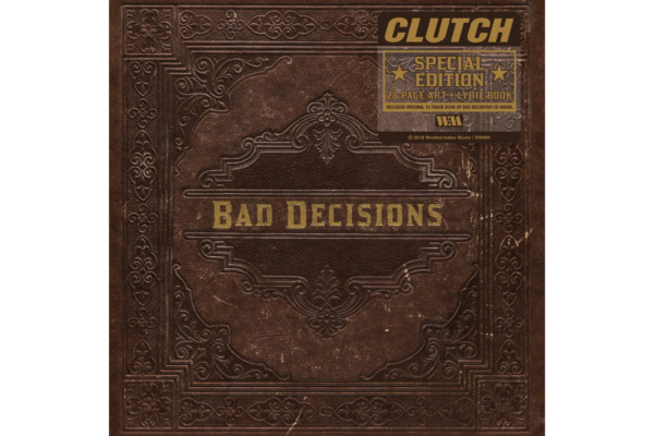 """Clutch Releases """"Book of Bad Decisions"""""""